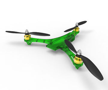 RC Tricopter, green
